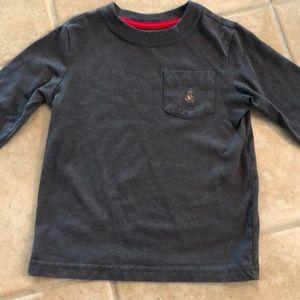 Gap Grey Long-sleeved Pocket T